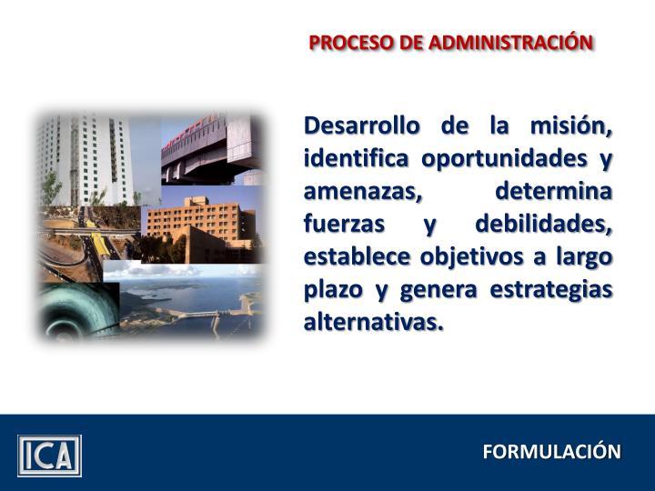PROCESO DE ADMINISTRACIÓN