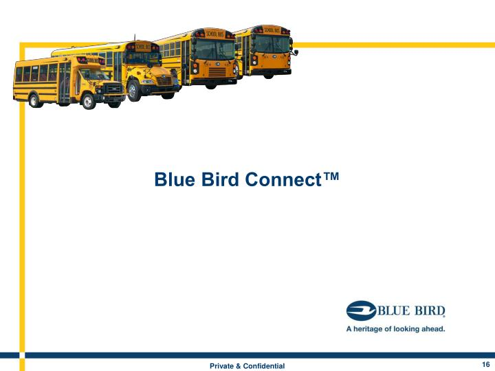 Blue Bird Connect™