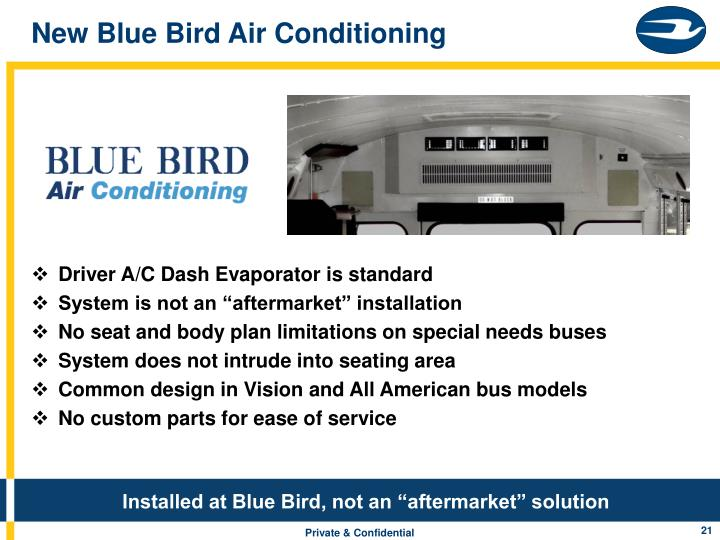 New Blue Bird Air Conditioning