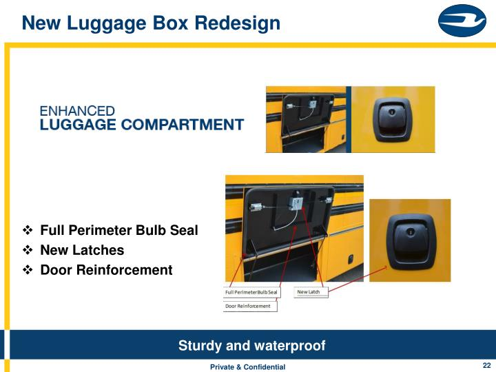 New Luggage Box Redesign