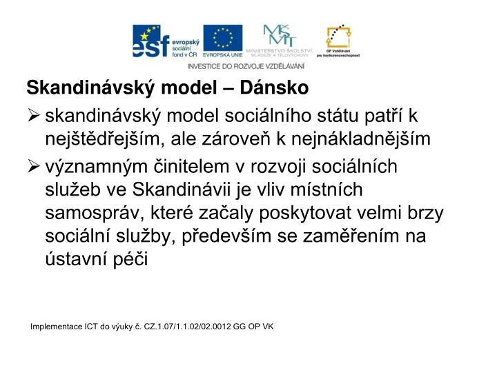 Skandinávský model – Dánsko