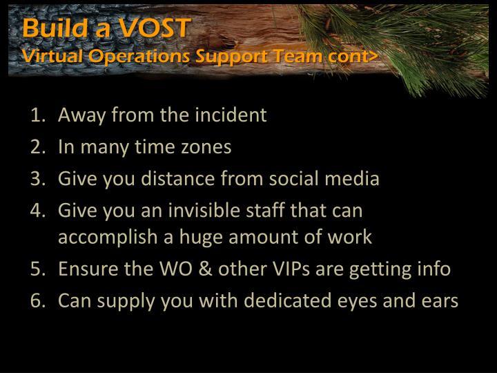 Build a VOST