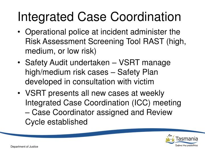 Integrated Case Coordination