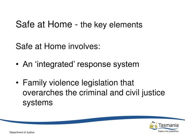Safe at Home -