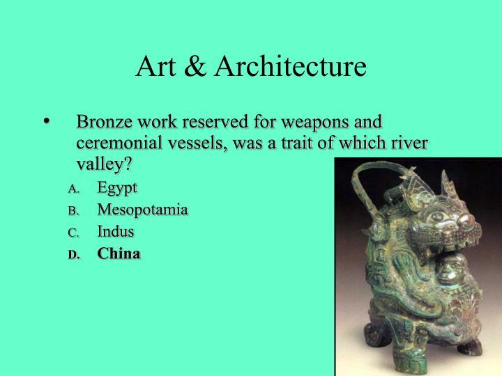 Art & Architecture
