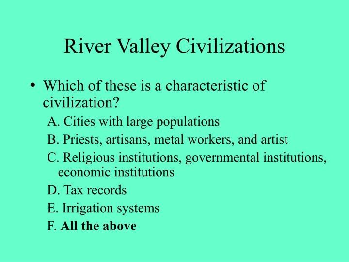River valley civilizations1