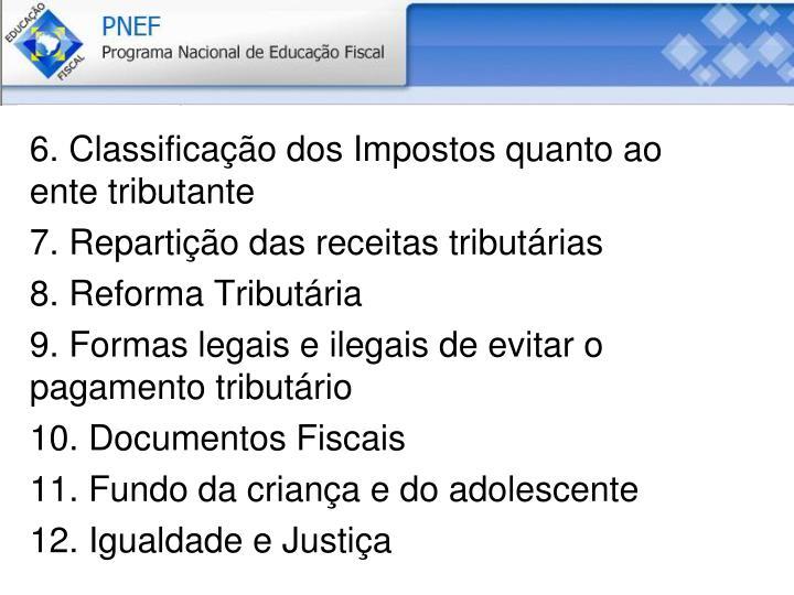 6. Classificação