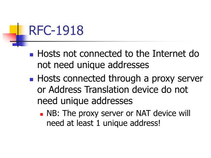 RFC-1918