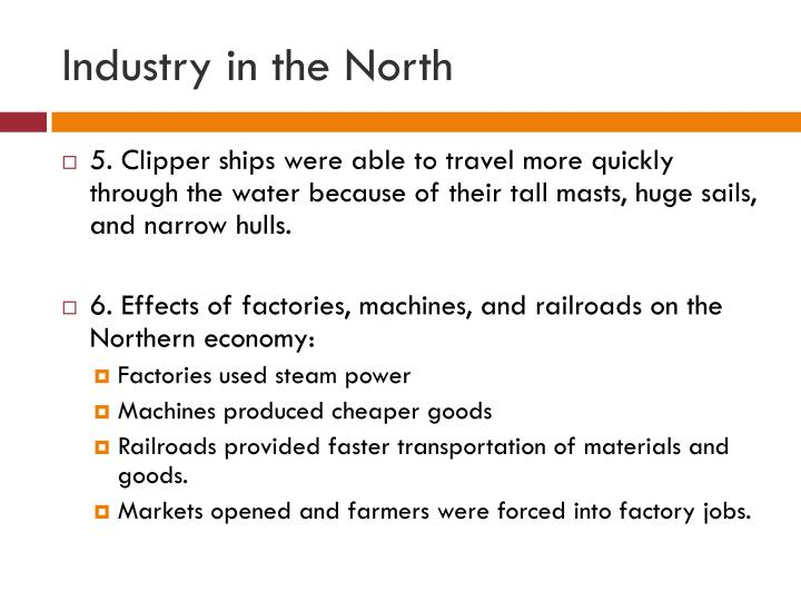 Industry in the North