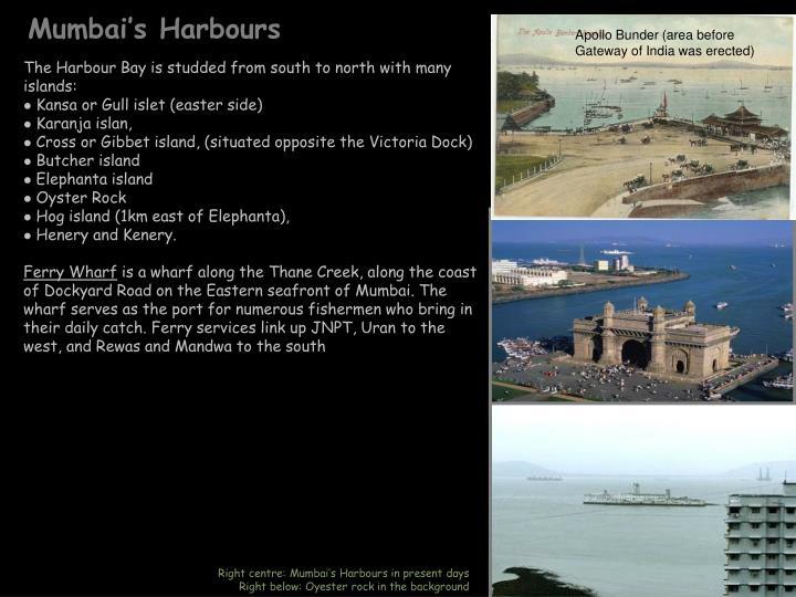 Mumbai's Harbours