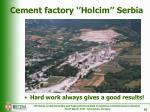 cement factory holcim serbia1