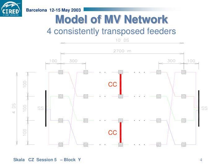 Model of MV