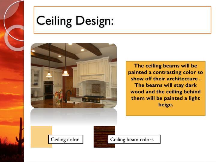 Ceiling Design: