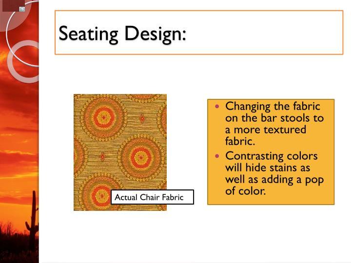 Seating Design: