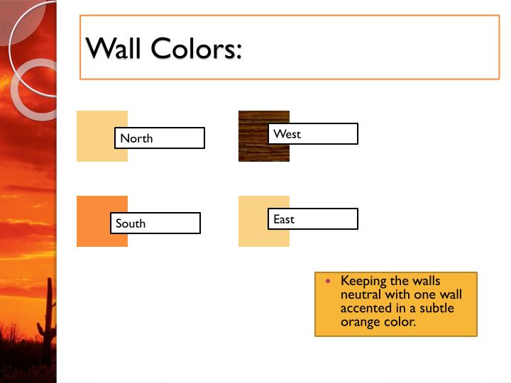 Wall Colors: