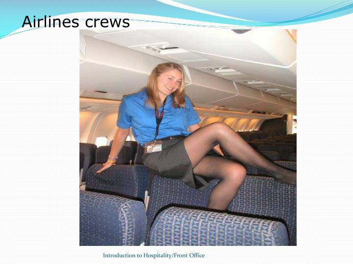 Airlines crews