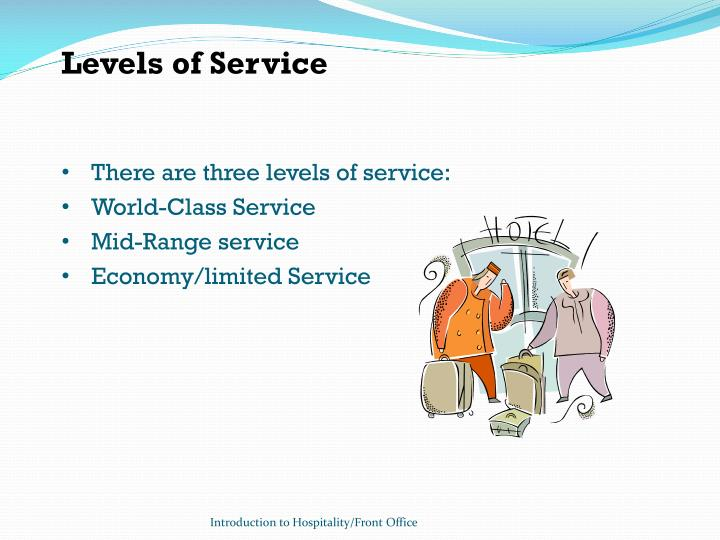 Levels of Service