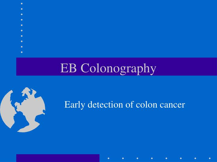 Eb colonography