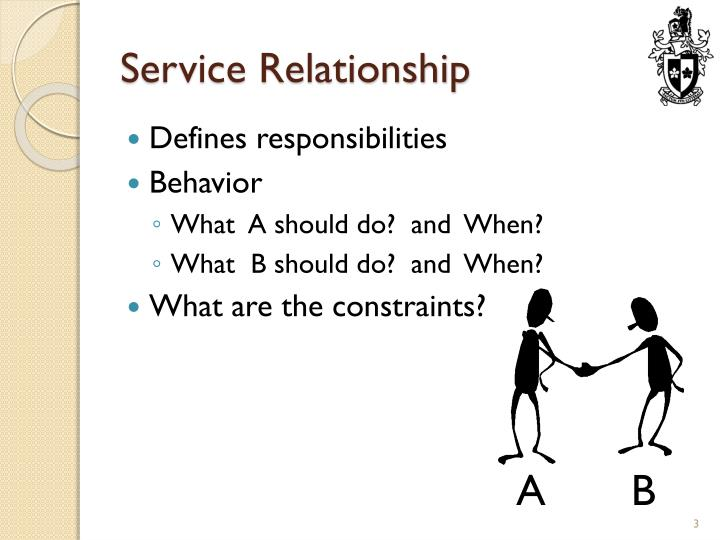Service relationship1