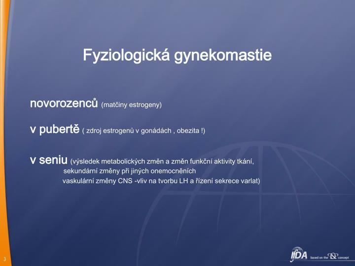 Fyziologická gynekomastie