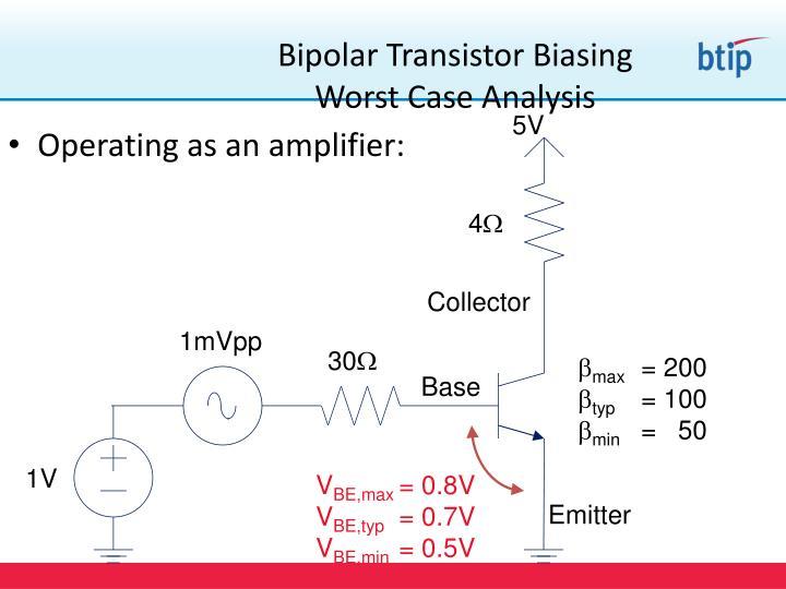 Bipolar Transistor Biasing