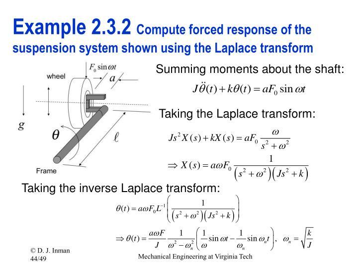 Example 2.3.2