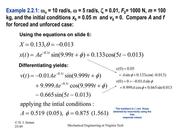 Example 2.2.1: