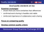 quality standards1