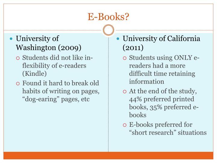 E-Books?