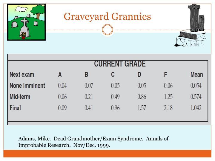 Graveyard Grannies