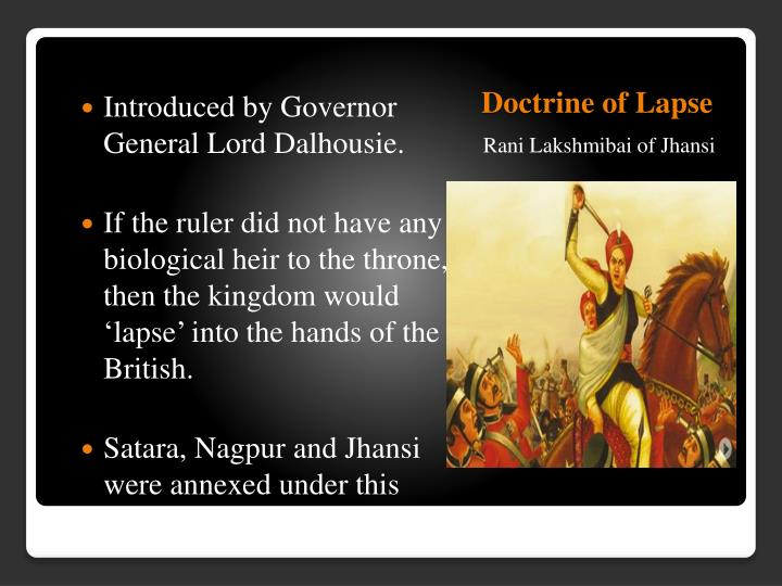 Doctrine of Lapse