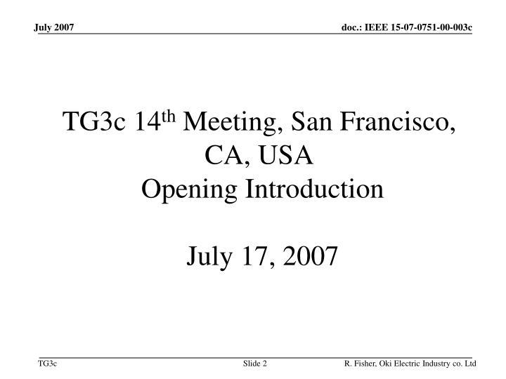 TG3c 14