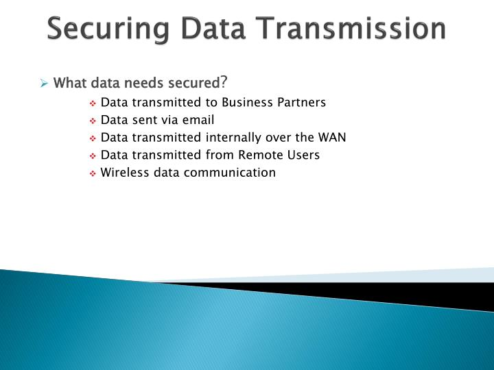 Securing Data Transmission
