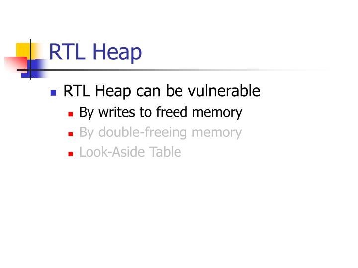 RTL Heap