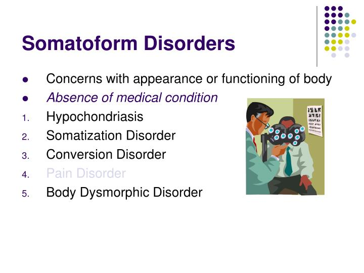 Somatoform Disorders