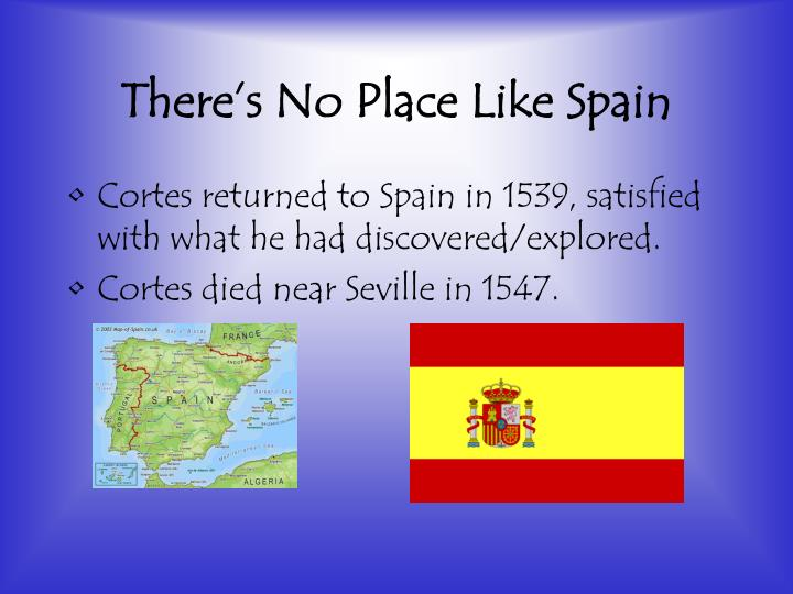 There's No Place Like Spain