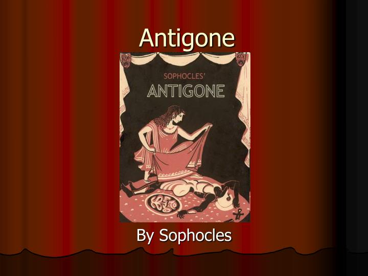 an analysis of sophocles play antigone This video is a summary and analysis of three major themes in the antigone of sophocles the themes discussed within the video are fate, law, and mortality.