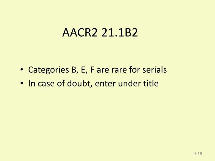 AACR2 21.1B2