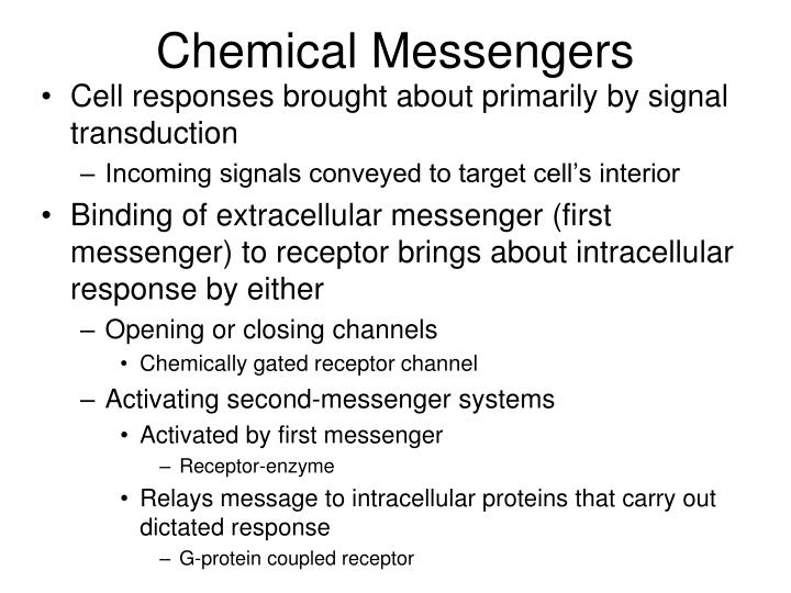 Chemical Messengers