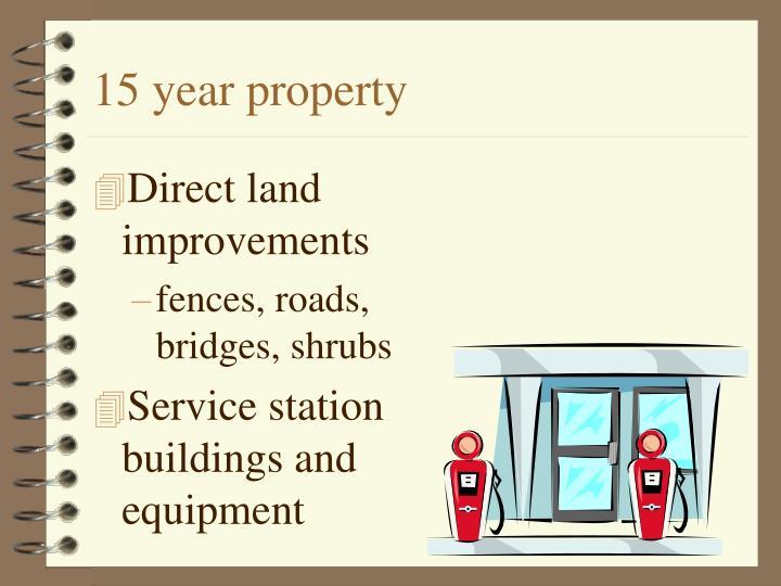 15 year property