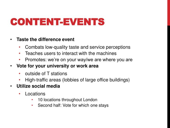 Content-Events