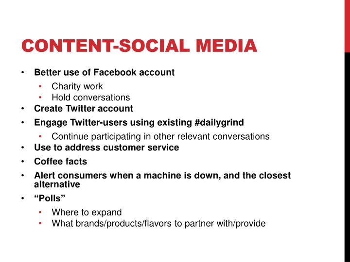 Content-social media
