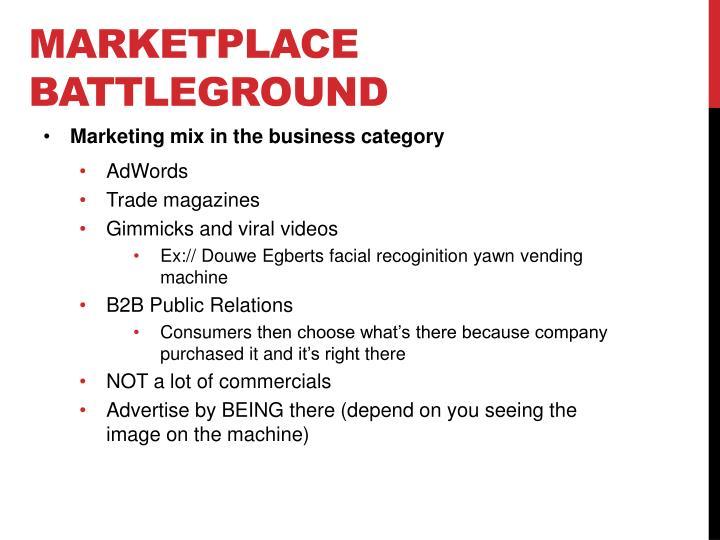 Marketplace Battleground