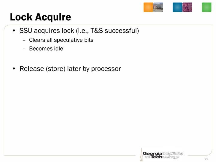 Lock Acquire