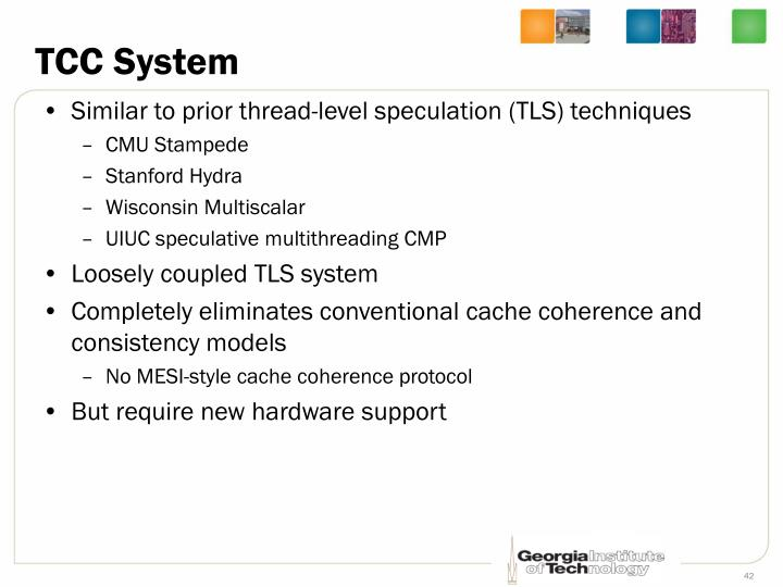 TCC System