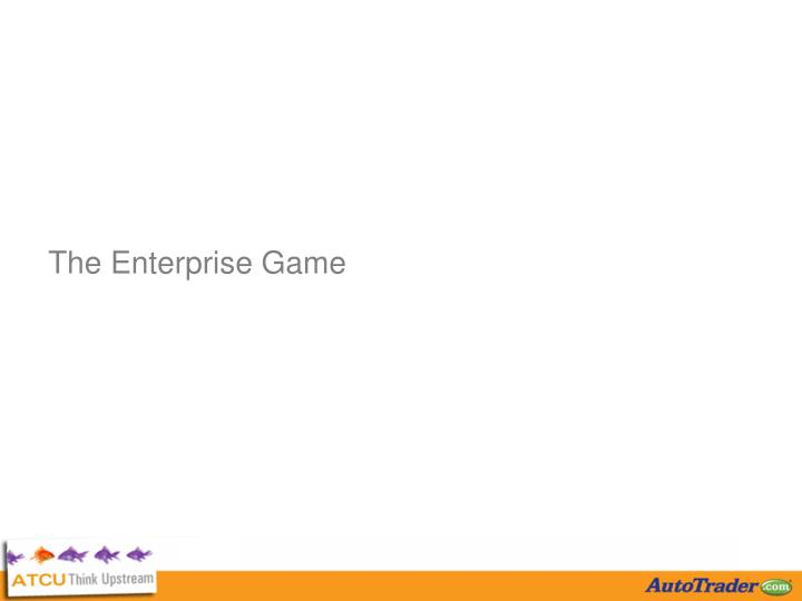 The Enterprise Game