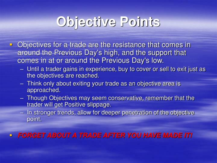 Objective Points