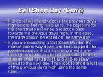 sell short day con t