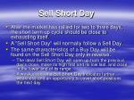sell short day