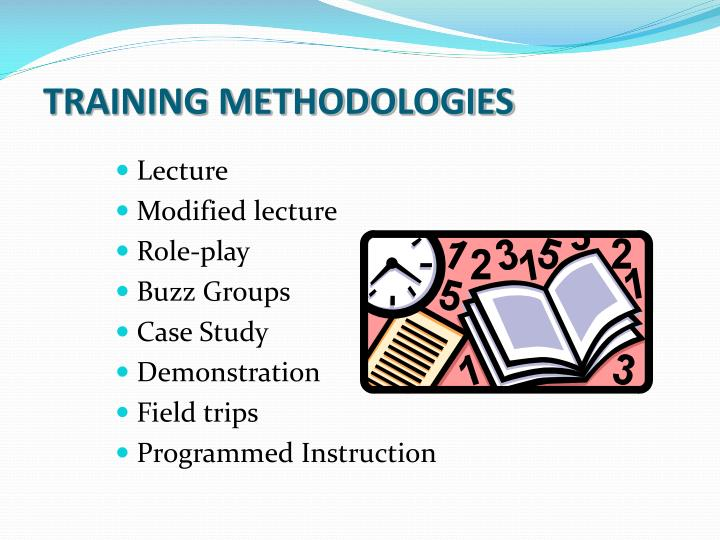 TRAINING METHODOLOGIES